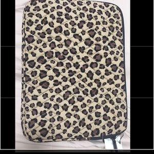 "NWT Vera Bradley 13"" Leopard Print Tablet Case"